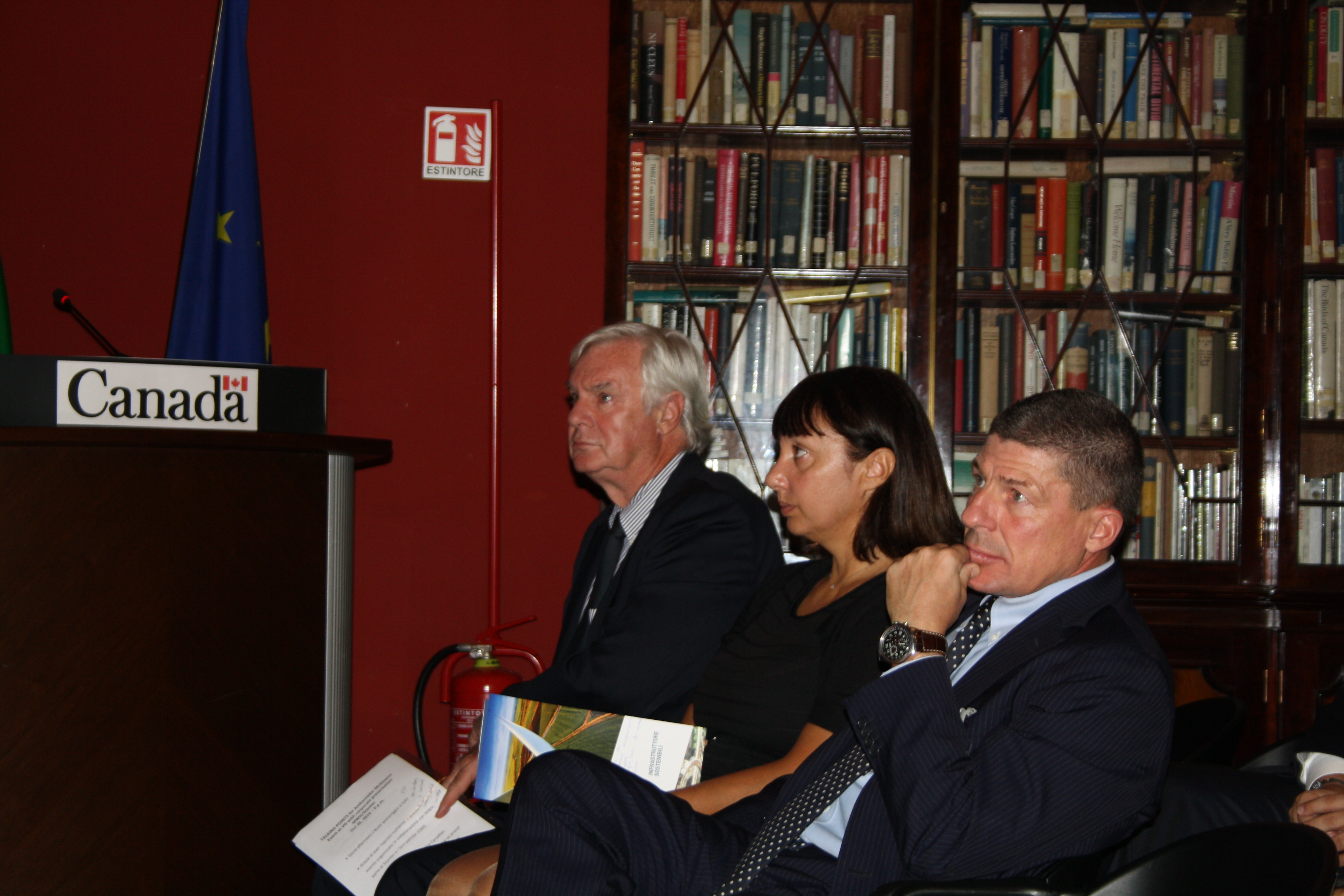 ICMQ E MWH, Parte Di STANTEC, Presentano Envision All'Ambasciata Canadese