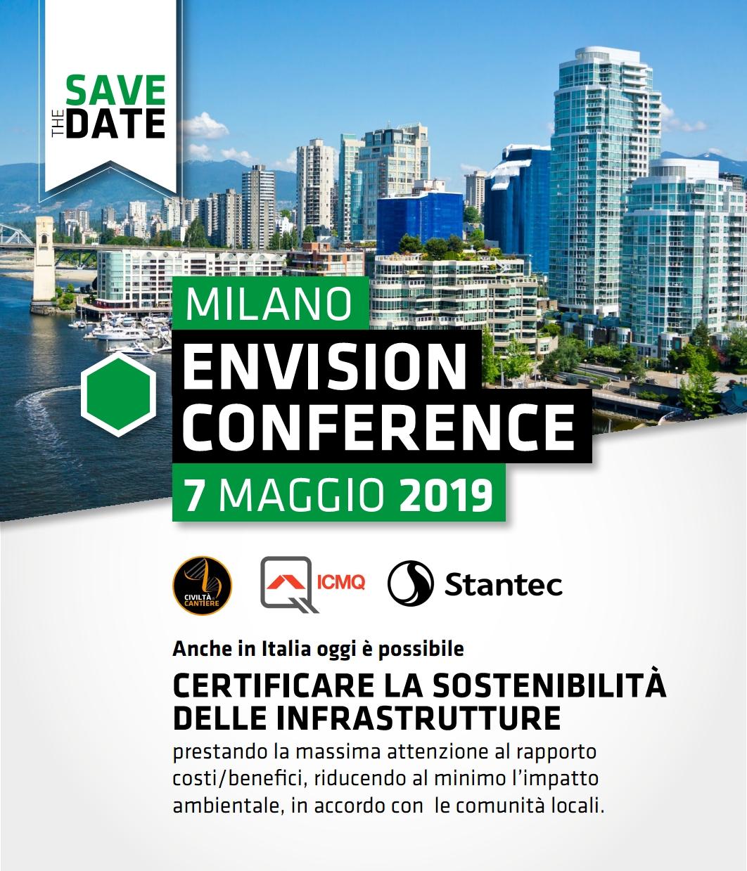 Envision Conference, 7 Maggio A Milano