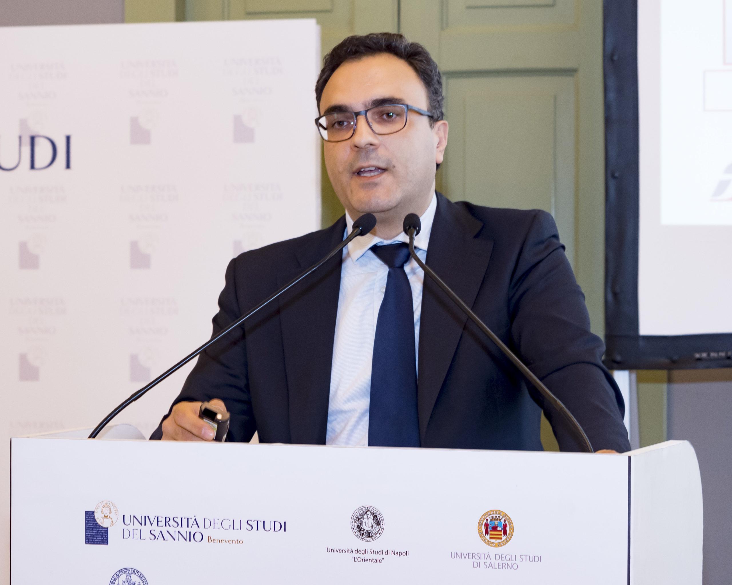 Intervento Di Lucio Menta, Referente Del Progetto Napoli – Bari, RFI
