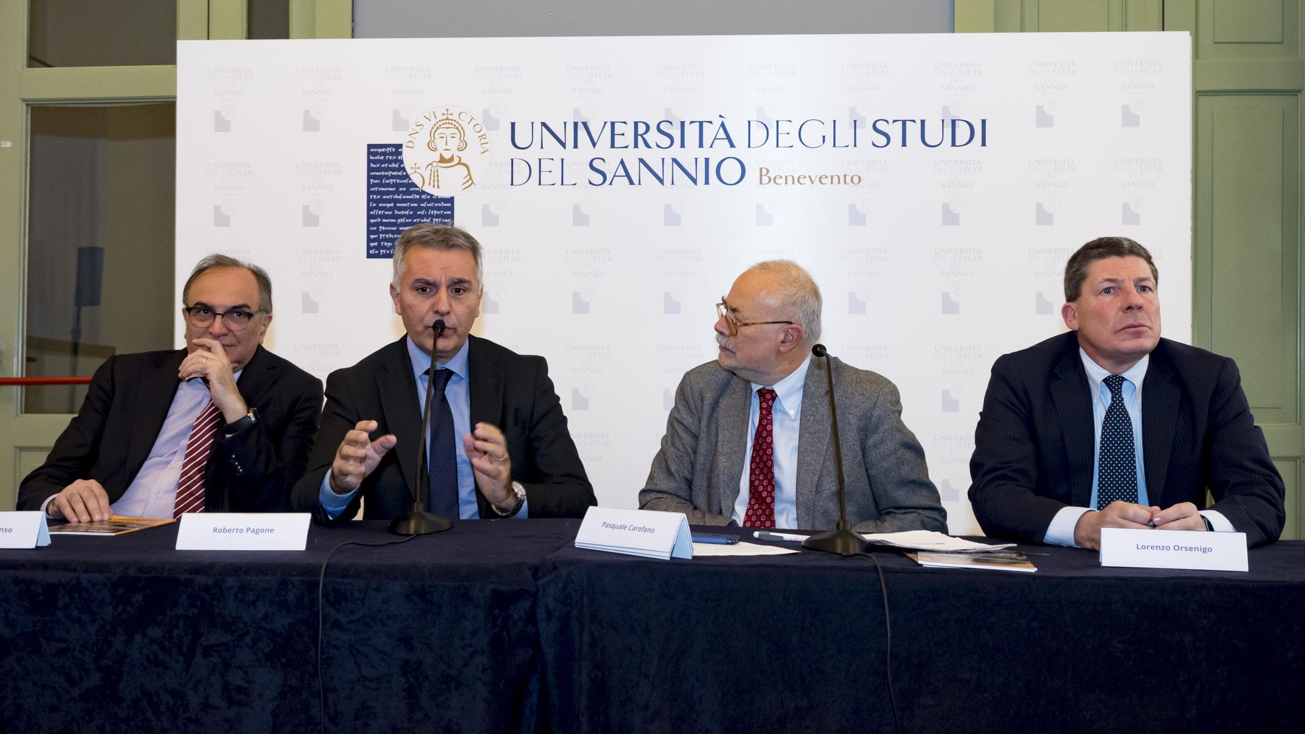 Intervento Di Roberto Pagone, Responsabile Investimenti Per Il Sud Italia Di RFI