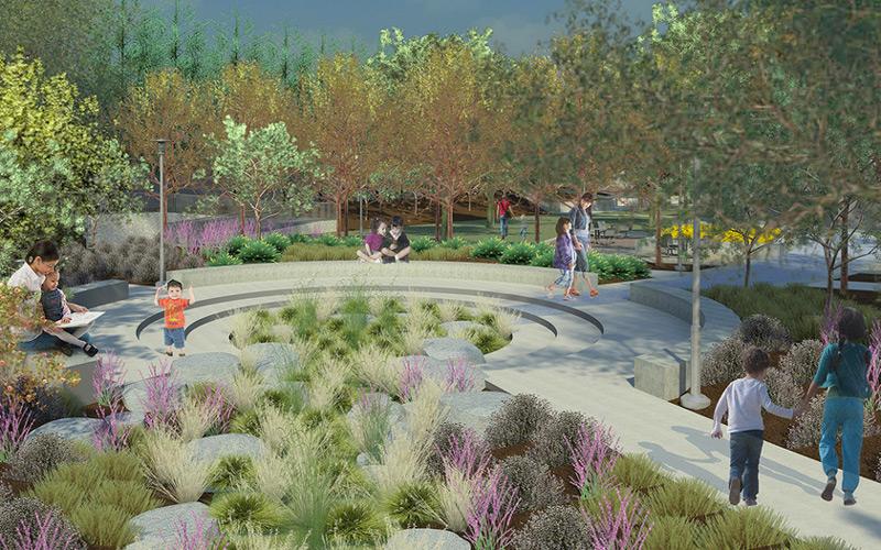 Il Progetto Del Parco Sul Fiume Di Albion Ottiene Il Premio Envision Gold