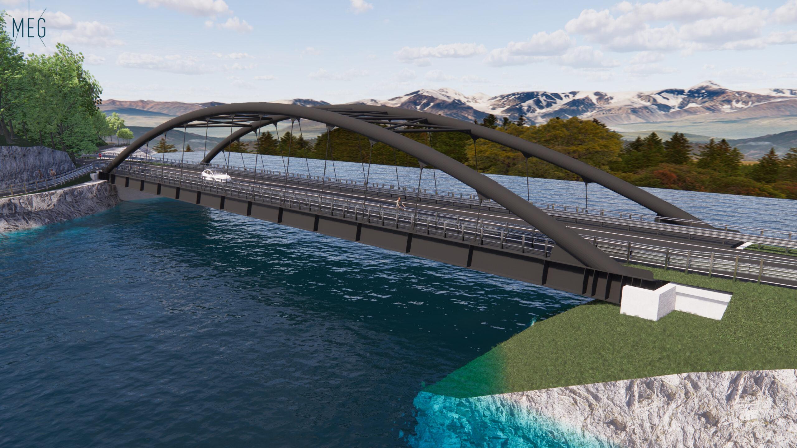 Nuovo Ponte Sul Lago Barcis (PN)