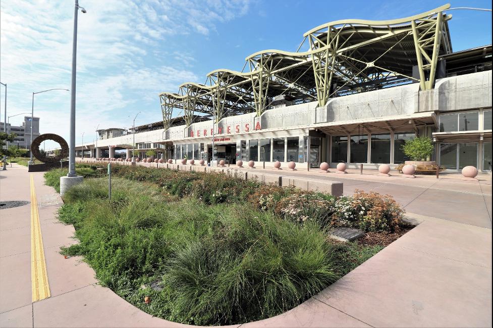 Il Berryessa Transit Center Della Santa Clara Valley Transportation Authority Si Aggiudica L' Envision Platinum